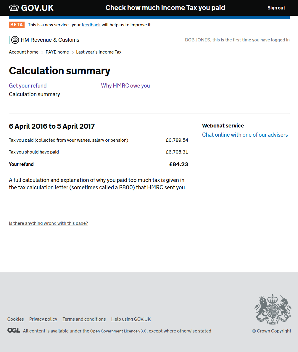 Sa302 tax calculation form | hmrc summary request.